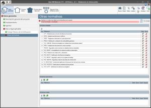 Open BIM Memorias CTE. Introducción de datos. Organización