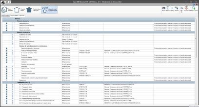 Open BIM Memorias CTE. Introducción de datos. Resumen fichas BIMserver.center