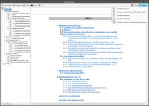 Open BIM Memorias CTE. Formatos de salida de los documentos
